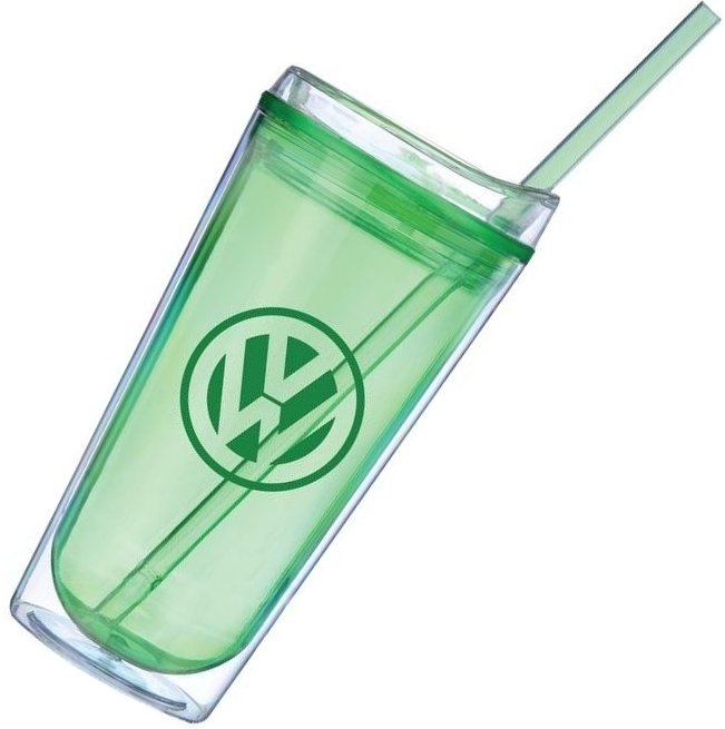Metro Colored Acrylic Tumbler