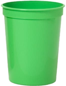 Lime Custom Stadium Cup Color
