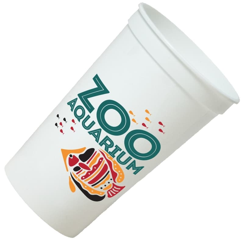 Stadium Cups - 22 oz 4 Color Printed Stadium Cup