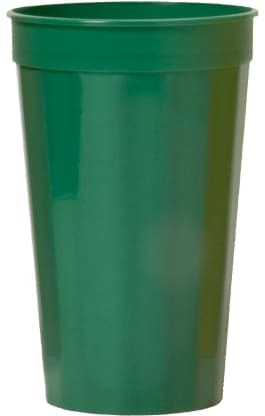 Green Custom Stadium Cup Color