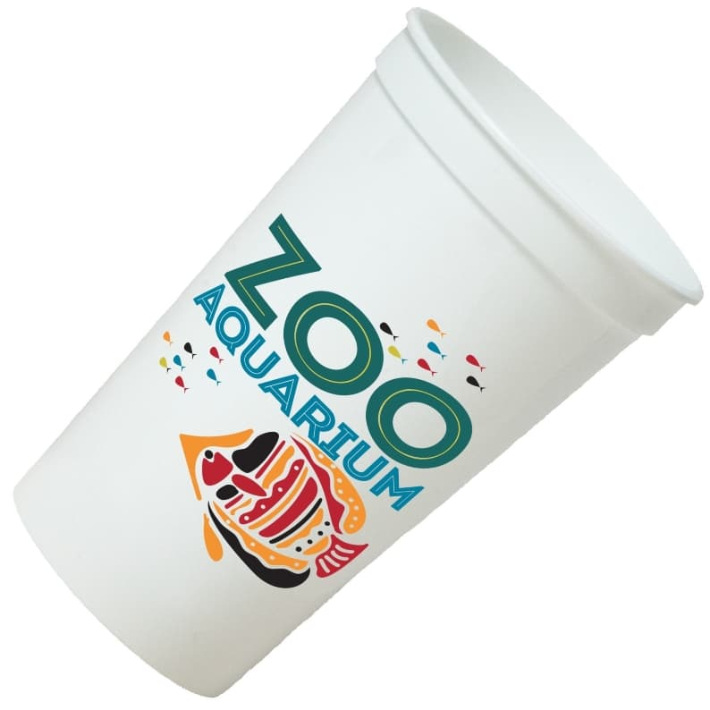 Stadium Cups - 22 oz 6 Color Printed Stadium Cup