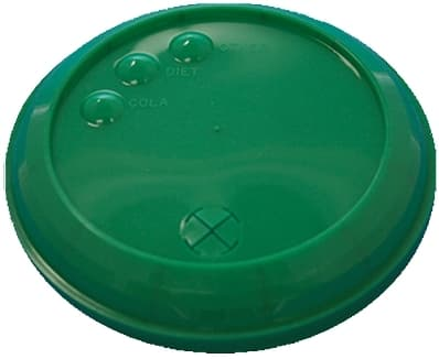 Green 32 oz Stadium Cup Lid
