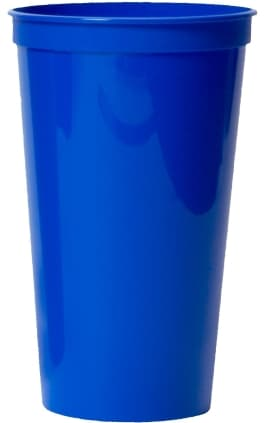 Royal Large Custom Stadium Cup Color