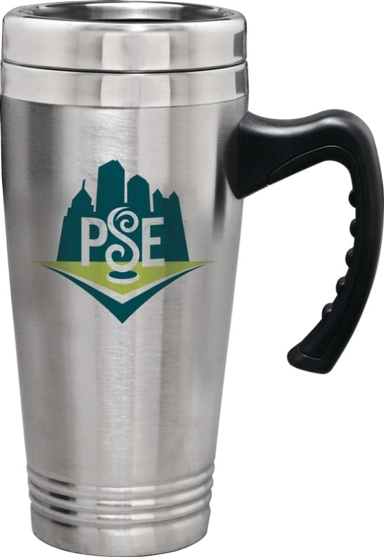 Stainless Steel Double Wall Commuter Mug