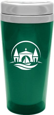 Trans Green Voyager Stainless Steel Tumbler Colors Image
