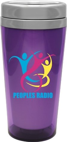 Trans Purple Voyager Stainless Steel Tumbler Colors Image