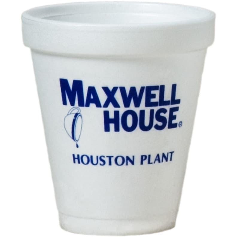 Custom Styrofoam Cups - 8 oz Foam Cup
