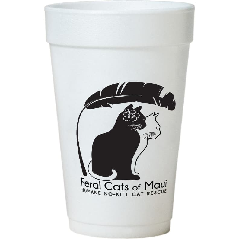 Custom Styrofoam Cups - 32 oz Foam Cup