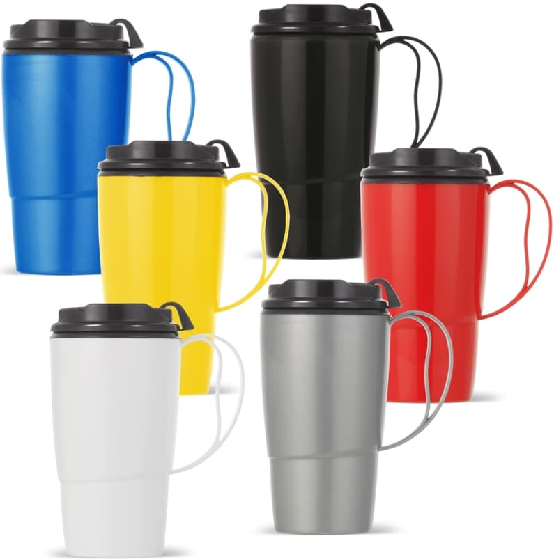 16 oz Thermoserv Travel Mugs Colors