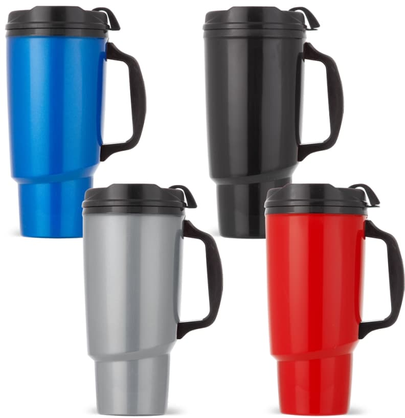 34 oz Thermoserv Travel Mugs Colors