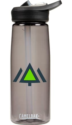 Camelbak 25 oz Eddy Charcoal Water Bottle Color