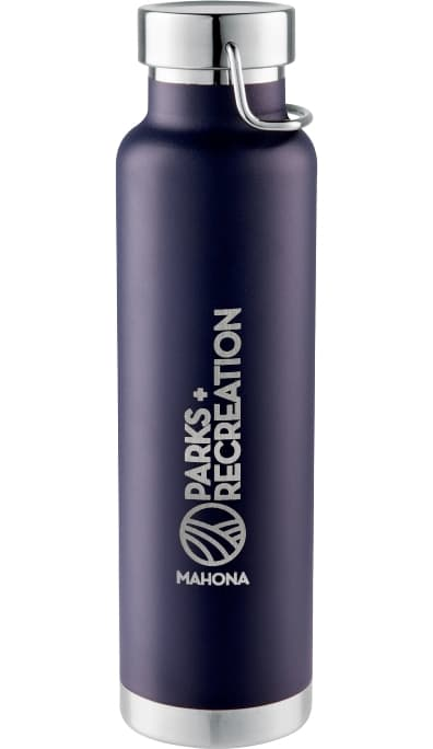 Navy 22 oz Stainless Steel Custom Vacuum Bottle Colors