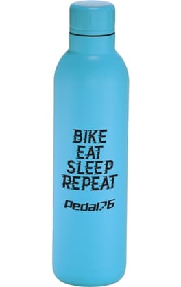Process Blue 17 oz Stainless Steel Custom Water Bottle Colors