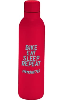 Red 17 oz Stainless Steel Custom Water Bottle Colors