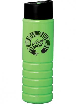 25 oz Polyethylene Custom Water Bottle