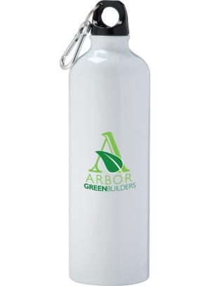 26 oz Aluminum Custom Water Bottle