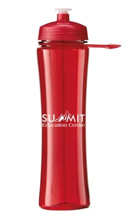 Trans Red Promo Water Bottle Colors