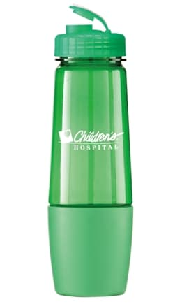 Trans Green Promo Water Bottle Colors