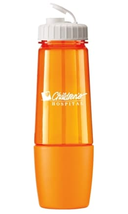 Trans Orange Promo Water Bottle Colors