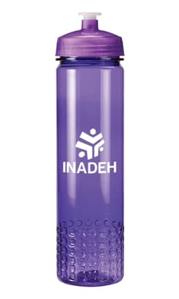 Trans Purple Promo Water Bottle Colors
