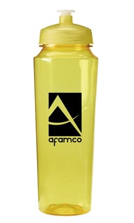 Trans Yellow Promo Water Bottle Colors