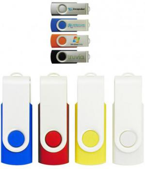 Promotional Swivel Flash Drives Image