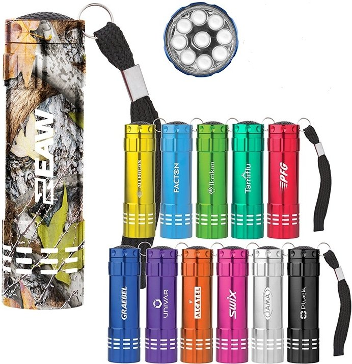 Flashlights - Renegade LED Promotional Flashlight