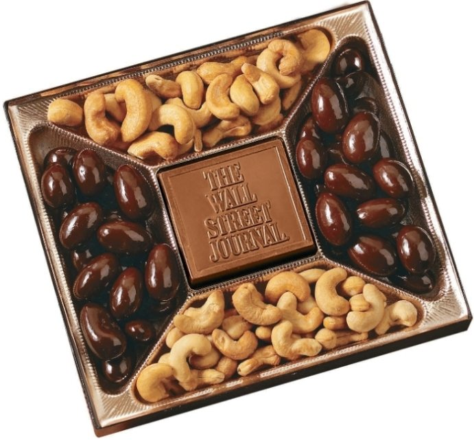 Chocolate Gifts-Deluxe Chocolate & Nuts 10 oz.