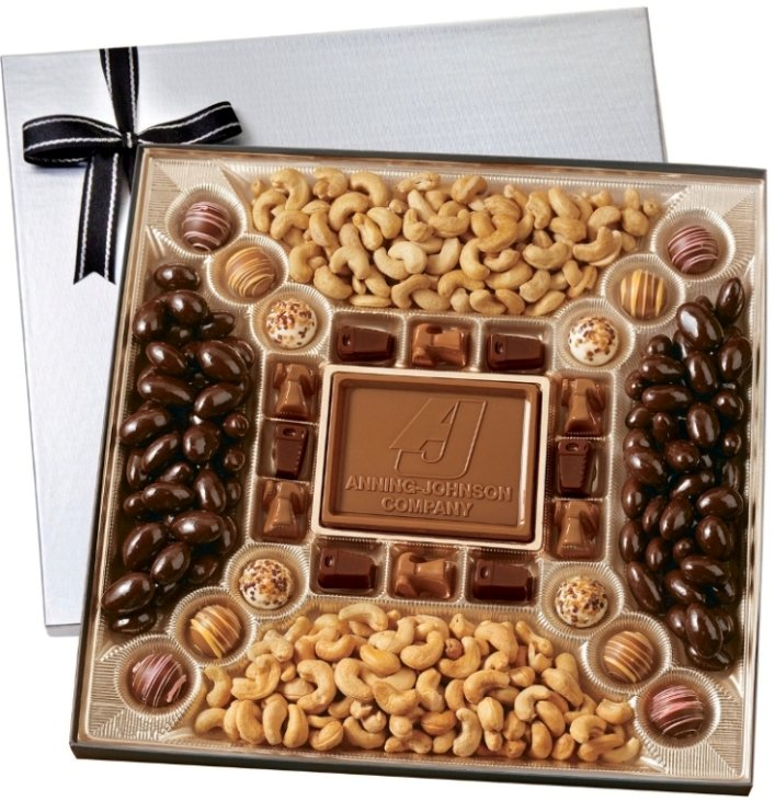 Chocolate Gifts-Deluxe Chocolate & Nuts 38 oz.