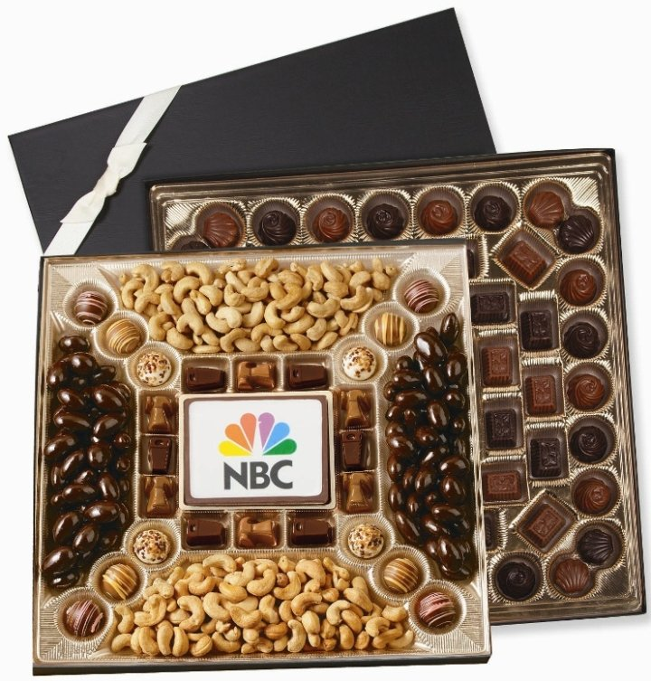 Chocolate Gifts-Custom Printed Deluxe Delights-52 oz.