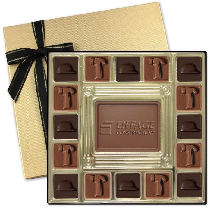 Chocolate Gifts-Molded Squares 13 1/2 oz.