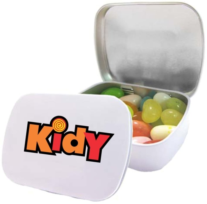 Jelly Beans-Jelly Belly® Domed Tin