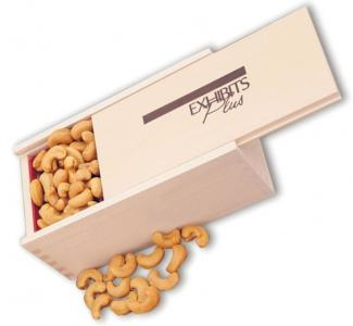 Business Gift Wood Box Cashews