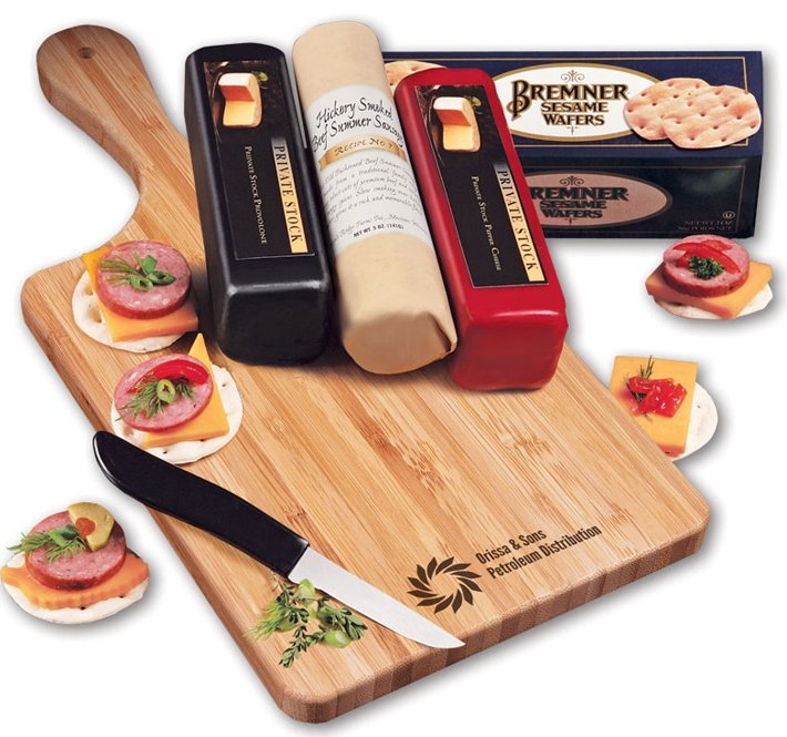 Holiday Food Gift Cheese Meat Lovers