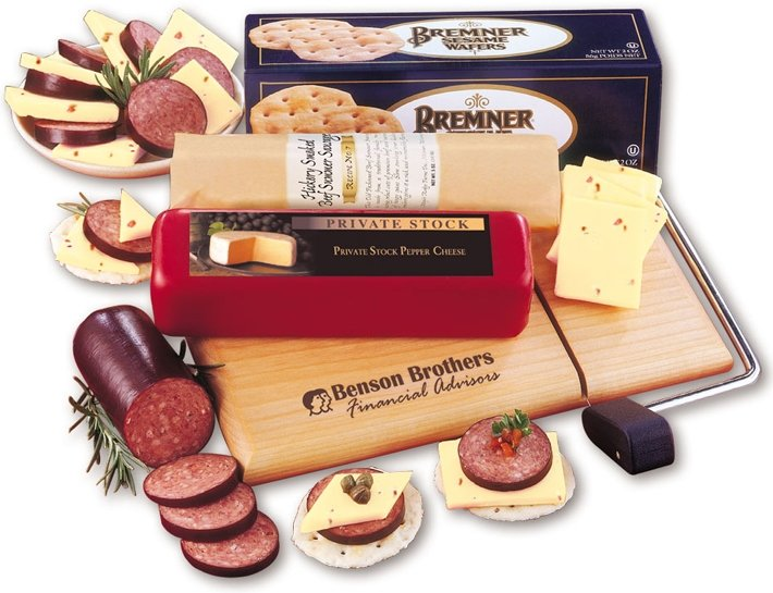 Holiday Food Gift Deluxe Wisconsin Favorite