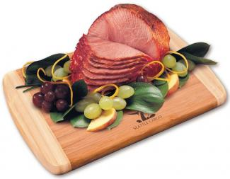 Holiday Food Gift Spiral Sliced Boneless Ham