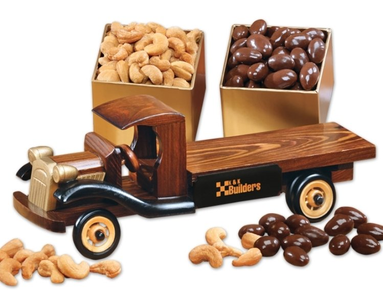 1930 Flatbed Truck Replica with Candy-Nuts