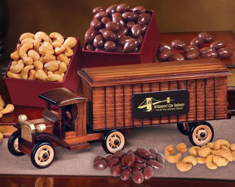 1930 Tractor Trailer Truck Replica with Candy-Nuts