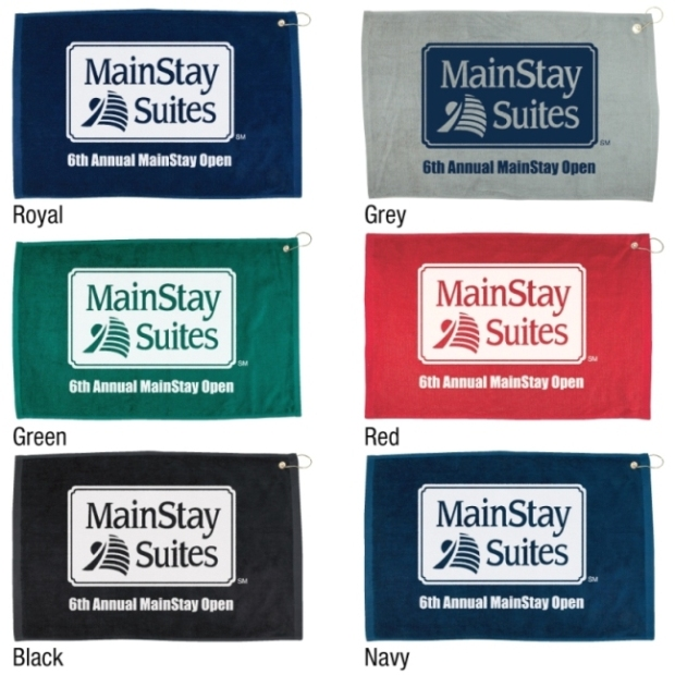 Deluxe Promotional Golf Towels Colors Image