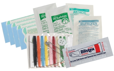 Custom Trip or Travel First Aid Kit Contents Image