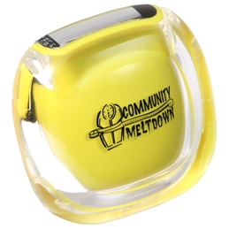Clearview Pedometer Yellow Color Image
