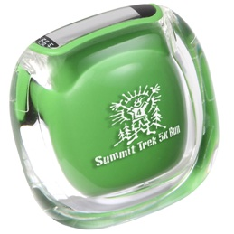 Clearview Pedometer Green Color Image