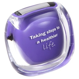 Clearview Pedometer Purple Color Image