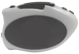Step It Up Pedometer Silver Color Image