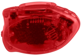 Step It Up Pedometer Trans Red Color Image