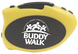 Step It Up Pedometer Yellow Color Image