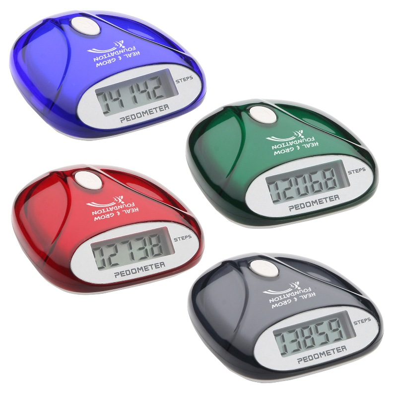 U Go Custom Printed Pedometer Colors