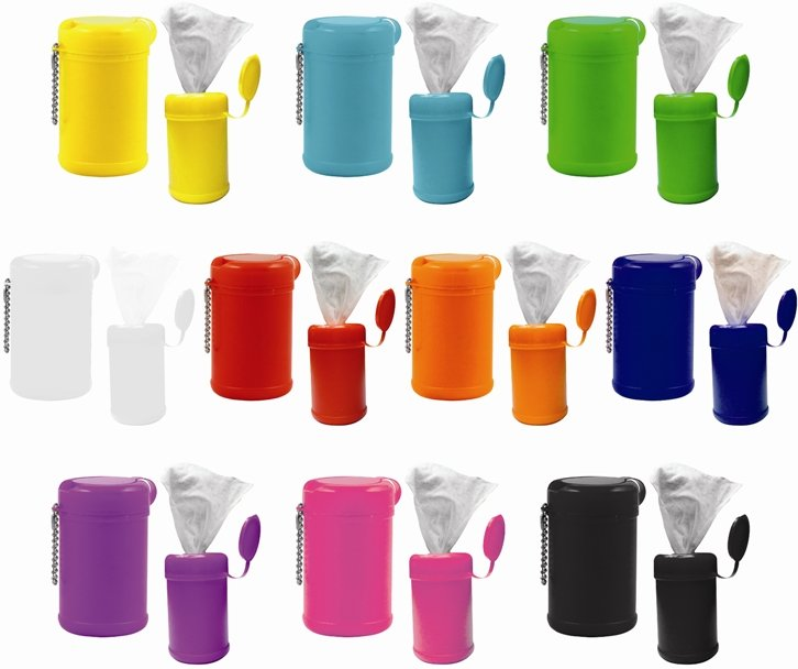 Wet Wipes Container Colors Image