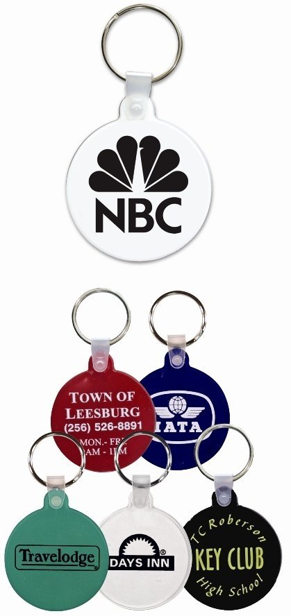 Circle or Round Keychain Colors