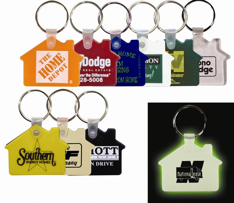 House Keychain Colors